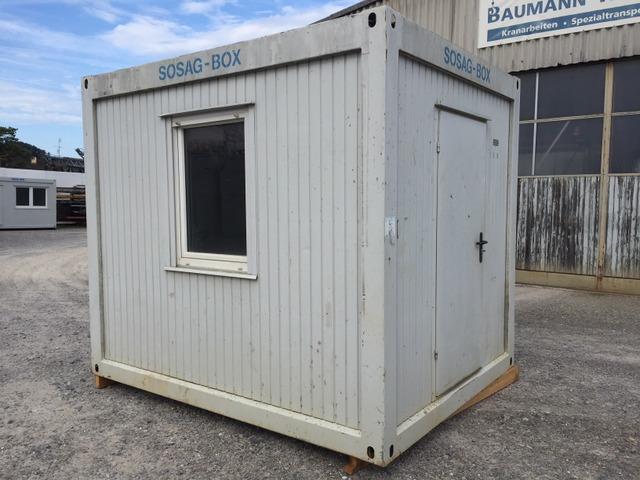 Sonstige Other Burocontainer Sosag Box 3m Wechselbehalter